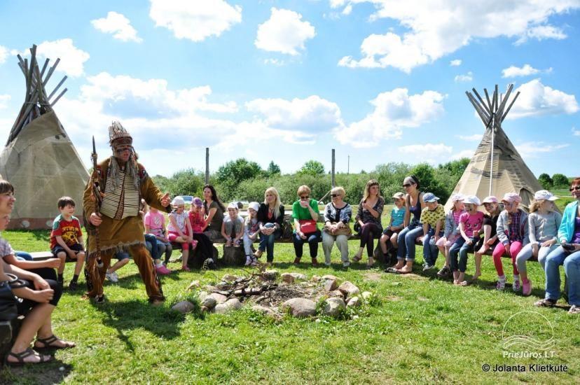 Vinetu kaimas – gyvosios indėnų istorijos muziejus, aktyvaus ir harmoningo laisvalaikio kaimas - 28