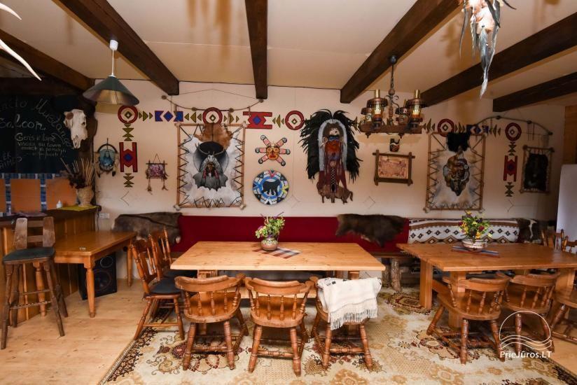 Vinetu kaimas – gyvosios indėnų istorijos muziejus, aktyvaus ir harmoningo laisvalaikio kaimas - 29