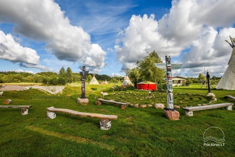 Vinetu kaimas – gyvosios indėnų istorijos muziejus, aktyvaus ir harmoningo laisvalaikio kaimas - 30