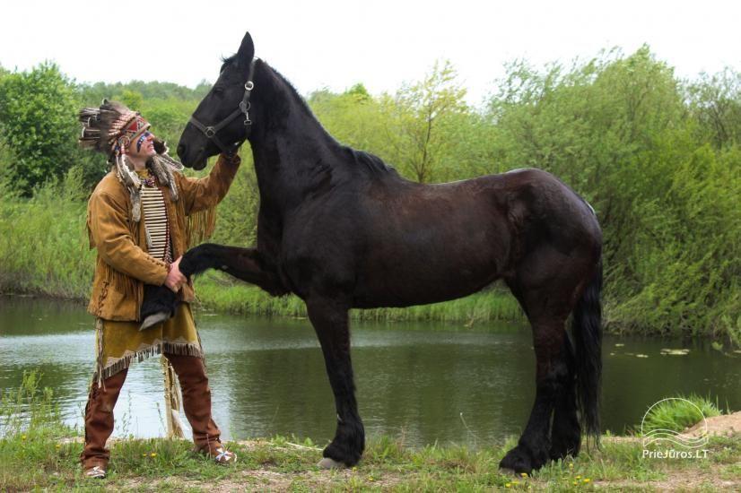 Vinetu kaimas – gyvosios indėnų istorijos muziejus, aktyvaus ir harmoningo laisvalaikio kaimas - 31