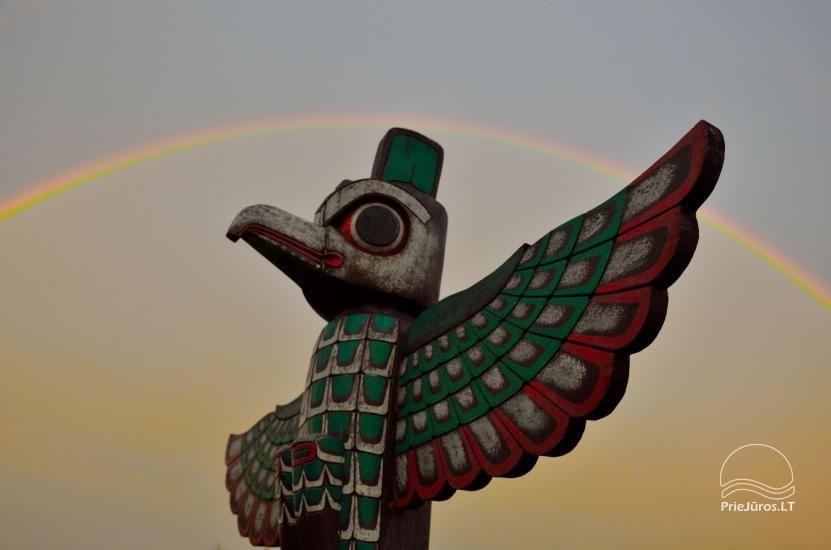 Vinetu kaimas – gyvosios indėnų istorijos muziejus, aktyvaus ir harmoningo laisvalaikio kaimas - 33