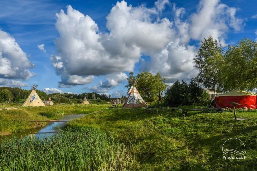 Vinetu kaimas – gyvosios indėnų istorijos muziejus, aktyvaus ir harmoningo laisvalaikio kaimas - 35