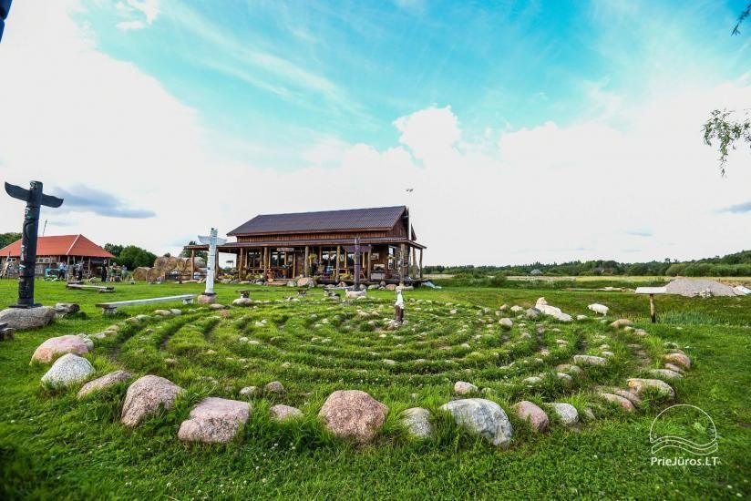 Vinetu kaimas – gyvosios indėnų istorijos muziejus, aktyvaus ir harmoningo laisvalaikio kaimas - 36