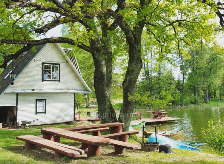 Sodyba Pas Nijolę - sodybos, namelių nuoma prie Pakalo ežero - 25