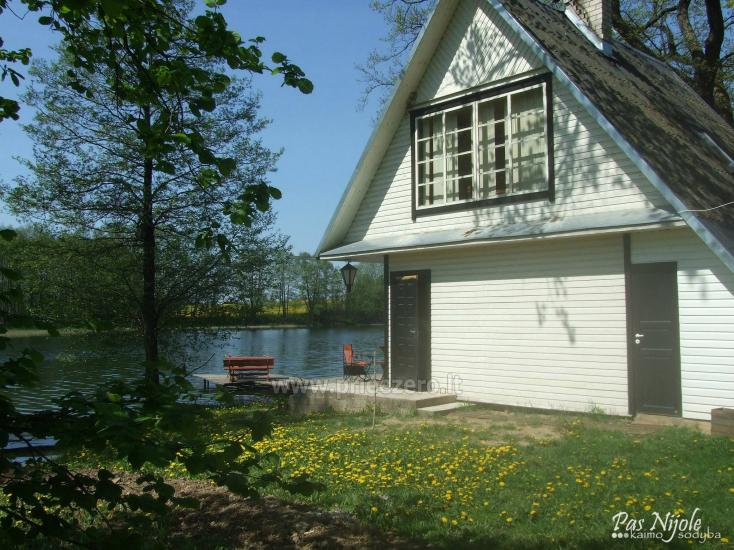 Sodyba Pas Nijolę - sodybos, namelių nuoma prie Pakalo ežero - 11