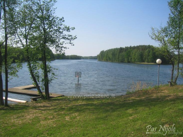 Sodyba Pas Nijolę - sodybos, namelių nuoma prie Pakalo ežero - 24