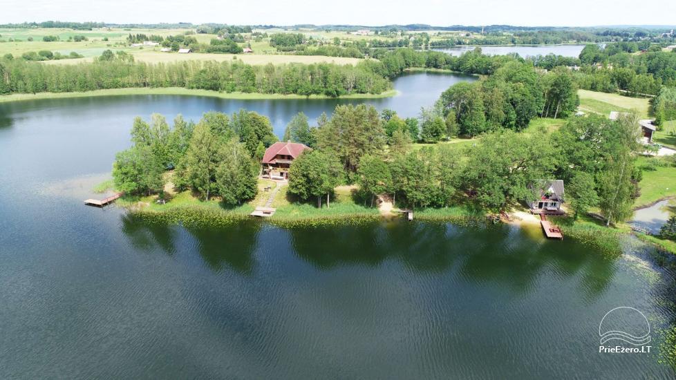 Sodyba Pas Nijolę - sodybos, namelių nuoma prie Pakalo ežero - 1