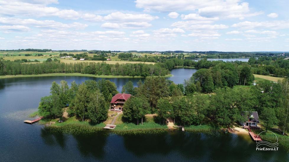 Sodyba Pas Nijolę - sodybos, namelių nuoma prie Pakalo ežero - 2