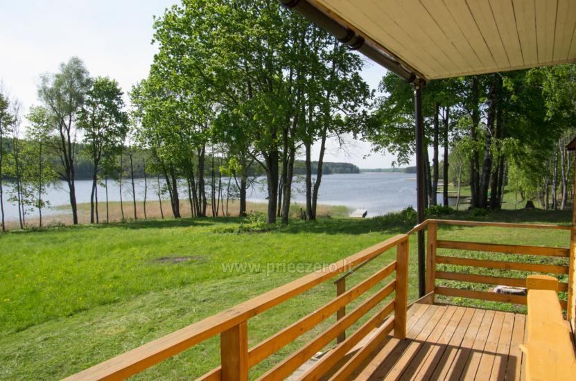 Poilsiavietė Sartai - nameliai ant ežero kranto - 1