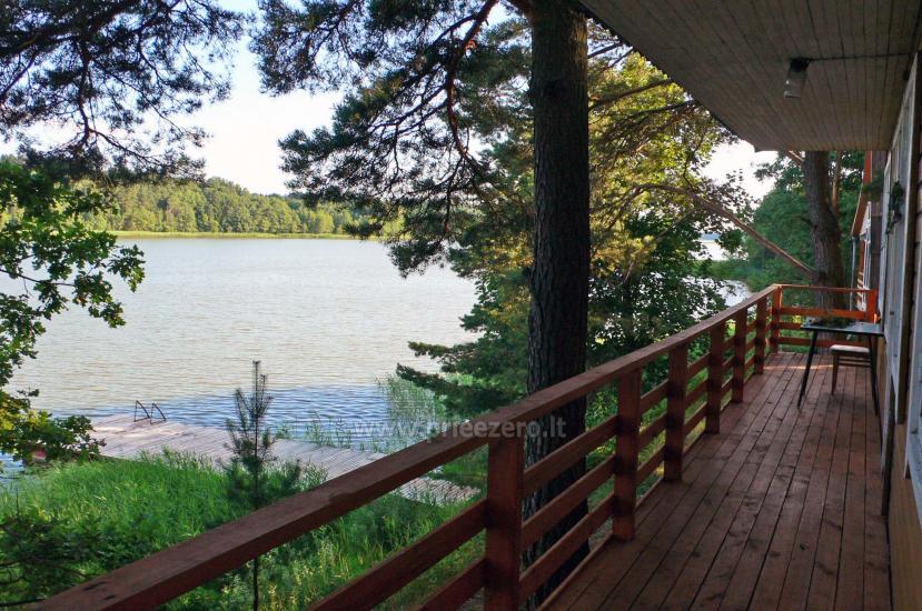 Poilsiavietė Sartai - nameliai ant ežero kranto - 6
