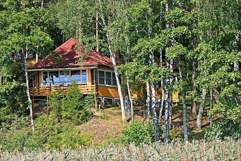 Poilsiavietė Sartai - nameliai ant ežero kranto - 8