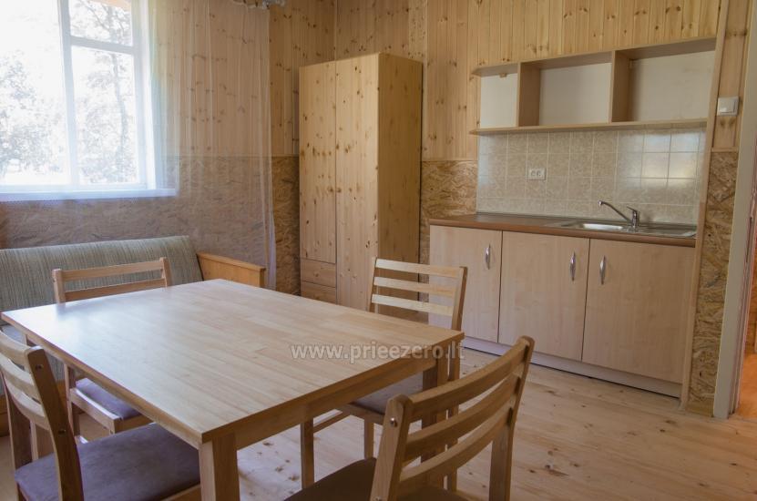Poilsiavietė Sartai - nameliai ant ežero kranto - 12