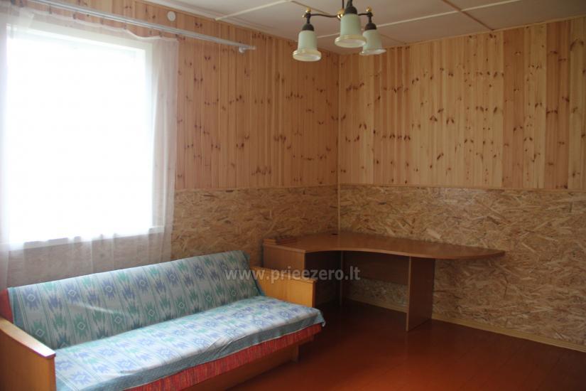 Poilsiavietė Sartai - nameliai ant ežero kranto - 16
