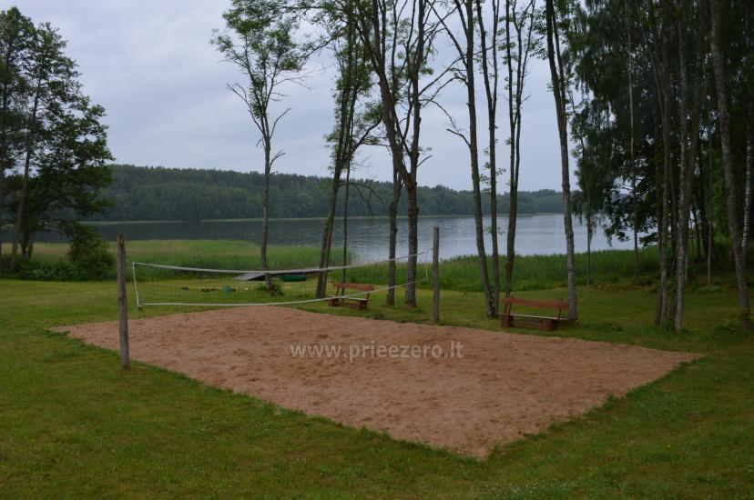 Poilsiavietė Sartai - nameliai ant ežero kranto - 20