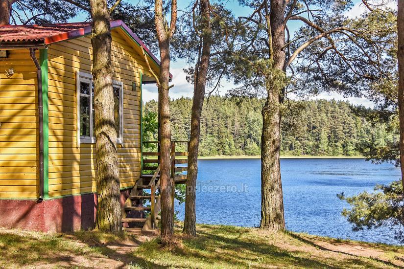 Poilsiavietė Sartai - nameliai ant ežero kranto - 4