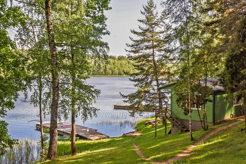 Poilsiavietė Sartai - nameliai ant ežero kranto - 2