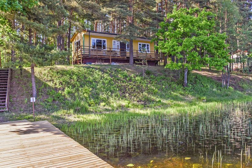 Poilsiavietė Sartai - nameliai ant ežero kranto - 9