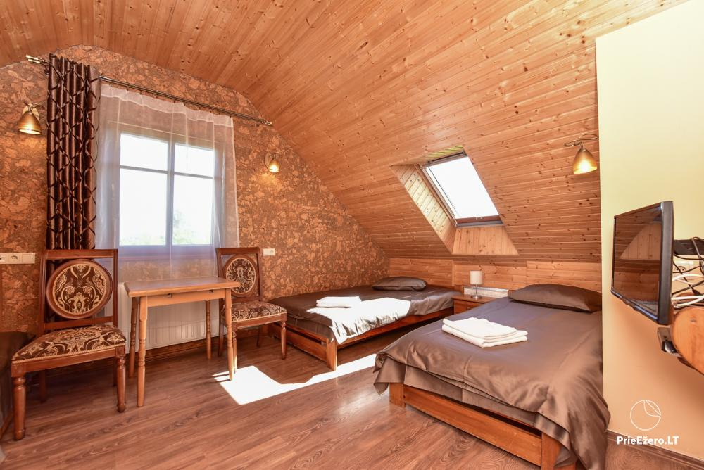 """Vilos nuoma poilsiui ir šventėms – """"Spa Villa Trakai"""": salė, Jacuzzi ir sauna, nakvynė - 26"""
