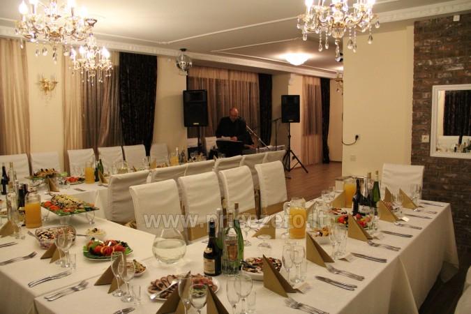 Kambarių bei pokylių salės su Jakuzzi ir sauna (iki 34 asm) nuoma sodyboje Spa Villa Trakai - 17