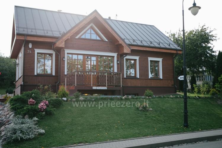 Kambarių bei pokylių salės su Jakuzzi ir sauna (iki 34 asm) nuoma sodyboje Spa Villa Trakai - 1
