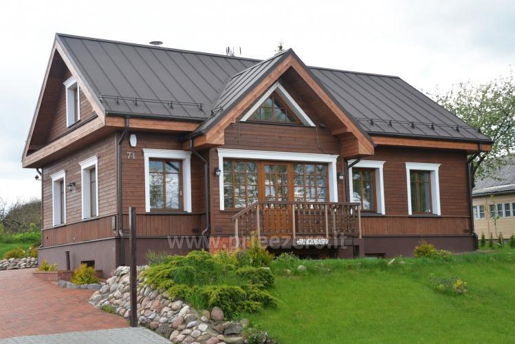 Kambarių bei pokylių salės su Jakuzzi ir sauna (iki 34 asm) nuoma sodyboje Spa Villa Trakai - 2