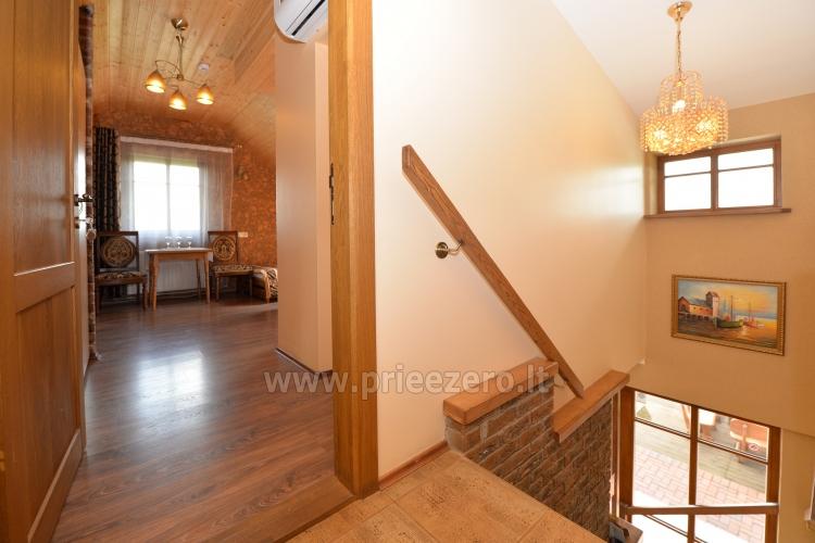Kambarių bei pokylių salės su Jakuzzi ir sauna (iki 34 asm) nuoma sodyboje Spa Villa Trakai - 25