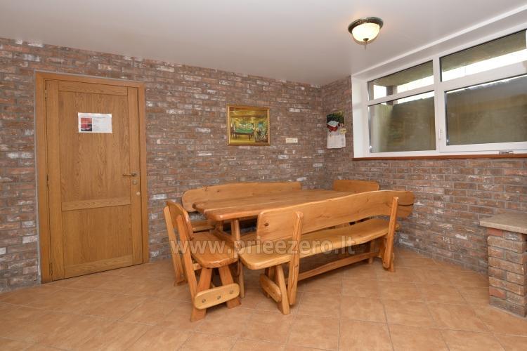 Kambarių bei pokylių salės su Jakuzzi ir sauna (iki 34 asm) nuoma sodyboje Spa Villa Trakai - 59