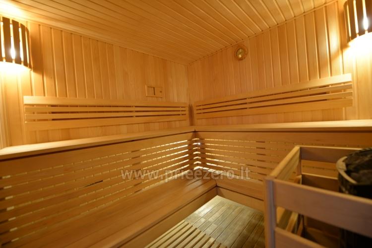 Kambarių bei pokylių salės su Jakuzzi ir sauna (iki 34 asm) nuoma sodyboje Spa Villa Trakai - 58