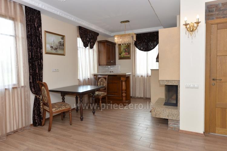 Kambarių bei pokylių salės su Jakuzzi ir sauna (iki 34 asm) nuoma sodyboje Spa Villa Trakai - 22