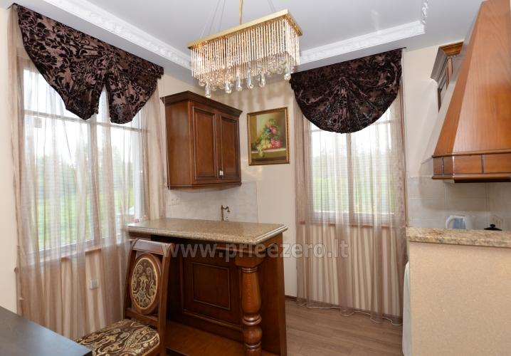 Kambarių bei pokylių salės su Jakuzzi ir sauna (iki 34 asm) nuoma sodyboje Spa Villa Trakai - 23