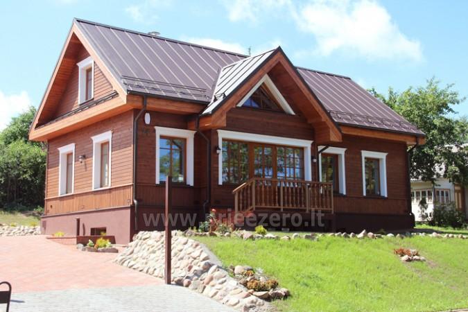 Kambarių bei pokylių salės su Jakuzzi ir sauna (iki 34 asm) nuoma sodyboje Spa Villa Trakai - 4