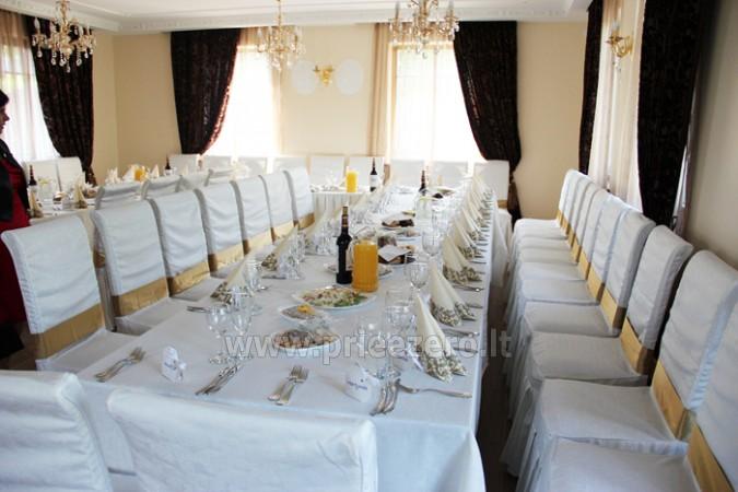 Kambarių bei pokylių salės su Jakuzzi ir sauna (iki 34 asm) nuoma sodyboje Spa Villa Trakai - 19