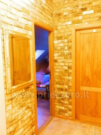 Kambarių bei pokylių salės su Jakuzzi ir sauna (iki 34 asm) nuoma sodyboje Spa Villa Trakai - 27