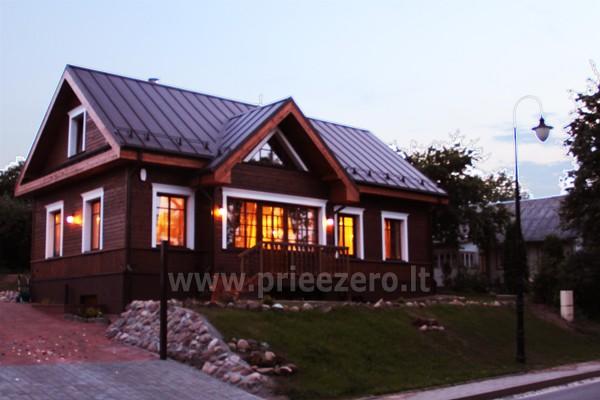 Kambarių bei pokylių salės su Jakuzzi ir sauna (iki 34 asm) nuoma sodyboje Spa Villa Trakai - 8