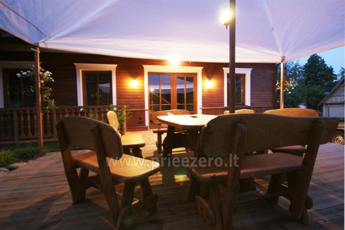 Kambarių bei pokylių salės su Jakuzzi ir sauna (iki 34 asm) nuoma sodyboje Spa Villa Trakai - 13
