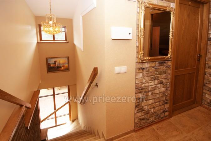 Kambarių bei pokylių salės su Jakuzzi ir sauna (iki 34 asm) nuoma sodyboje Spa Villa Trakai - 24