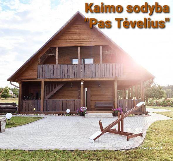 Sodyba Vilniaus rajone Pas Tėvelius - 1