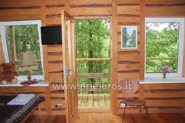 Namas Krasti su pirtimi prie Riva upės krioklio, nėgių žvejyba - 14