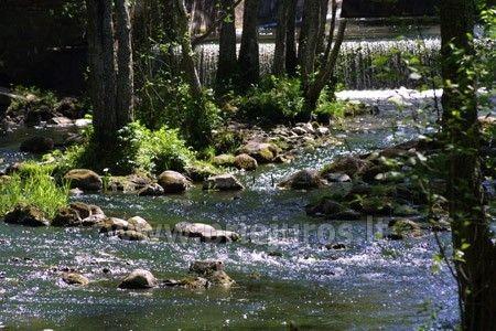 Namas Krasti su pirtimi prie Riva upės krioklio, nėgių žvejyba - 29