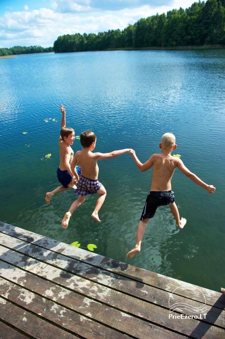 Danutės sodyba ant Trikojo ežero kranto Lazdijų rajone - 23
