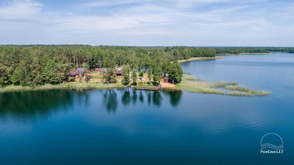 Sodyba Tėviškė ant Snaigyno ežero kranto - 8