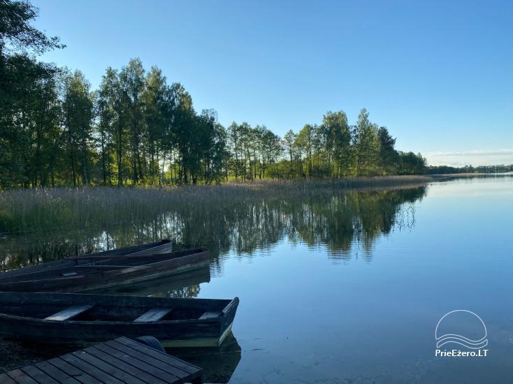 Sodyba Tėviškė ant Snaigyno ežero kranto - 43