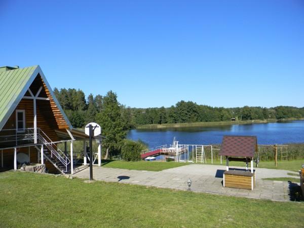 Sodyba ant ežero kranto Nečiūnai.  Pirtis, kubilas, valtys, sportas - 6