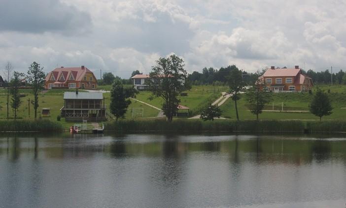 Sodyba ant ežero kranto Nečiūnai.  Pirtis, kubilas, valtys, sportas - 5
