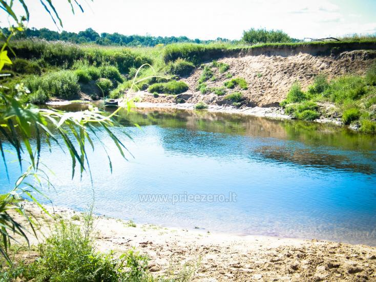 Turistinė stovykla Gargždų rajone Minijos senvagė - 1
