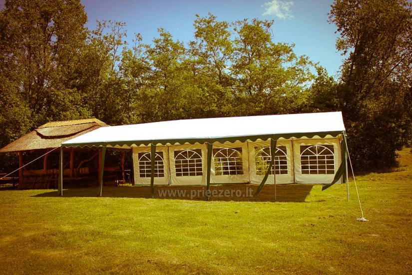 Turistinė stovykla Gargždų rajone Minijos senvagė - 2
