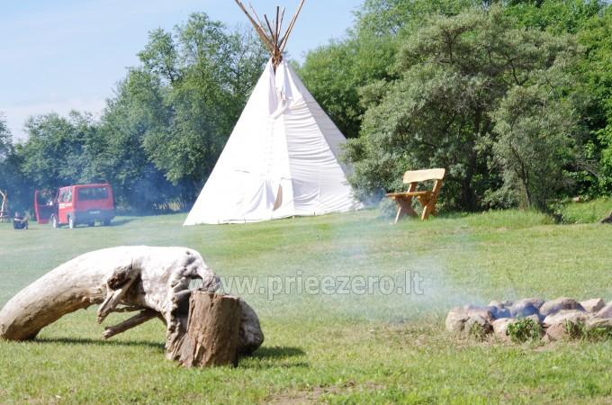 Turistinė stovykla Gargždų rajone Minijos senvagė - 9