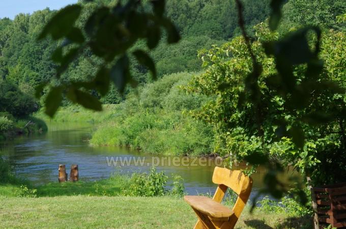 Turistinė stovykla Gargždų rajone Minijos senvagė - 15