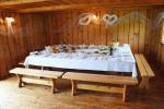 Poyklių salė, pirtis, nakvynė sodyboje prie Dusios ežero BURLINGĖ