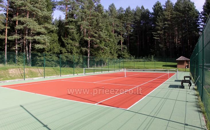 Teniso kortai prie Vilniaus sodyboje TARP PUŠŲ - 1